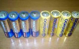 Как заряжать алкалиновые батарейки