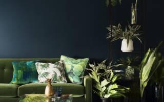 Зеленый дизайн квартиры