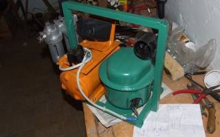 Самодельный компрессор из холодильника для покраски