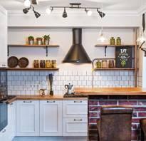 Интерьер кухни в хрущевке фото с холодильником