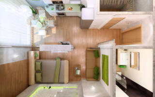 Интерьер квартир московской планировки