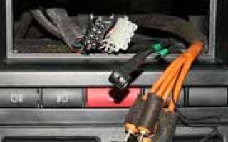 Как подключить магнитофон в авто