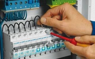 Выбор автомата по сечению провода