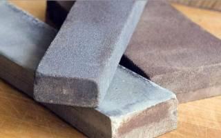 Как правильно точить нож об точильный камень