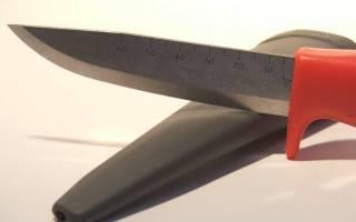 Как просто заточить нож