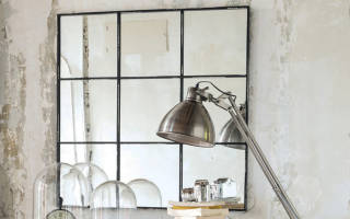 Зеркала в интерьере лофт
