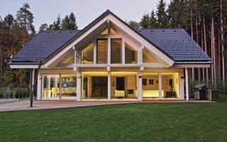 Интерьер каркасного дома