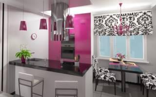 Интерьер кухни гостиной 18 кв м