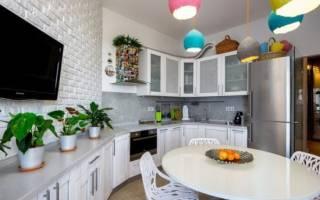 Кухни белые матовые в интерьере