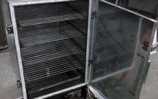 Домик для коптильни холодного копчения своими руками