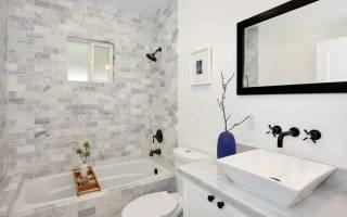 Кафель в ванную дизайн фото