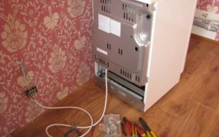 Духовой шкаф без вилки как подключить