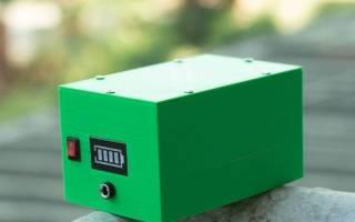 12 Вольтовый аккумулятор своими руками