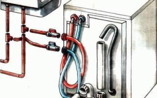 Подключение посудомоечной машины ханса