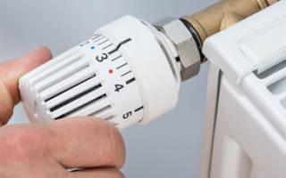 Устройство термоголовки для радиатора отопления