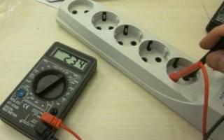 Как тестером проверить напряжение 220 вольт
