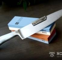 Как правильно точить нож бруском абразивным