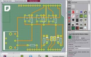 Как начертить электрическую схему на компьютере