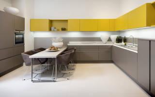 Интерьер кухни углом фото
