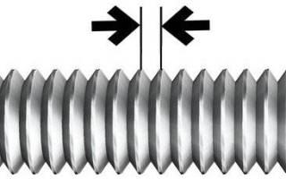Как узнать шаг резьбы штангенциркулем