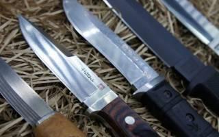 Как наточить нож напильником