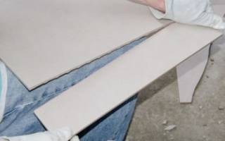 Чем распилить керамическую плитку в домашних условиях