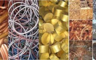 Характеристика цветных металлов и сплавов