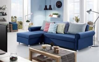 Интерьер гостиной в синем цвете фото