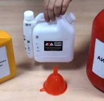 Как пользоваться мерной емкостью для бензопилы