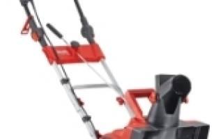 Электрический снегоуборщик PATRIOT PS 1800E: обзор, отзывы