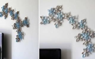 Декор стен бумагой