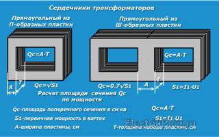 Расчет трансформатора программа онлайн
