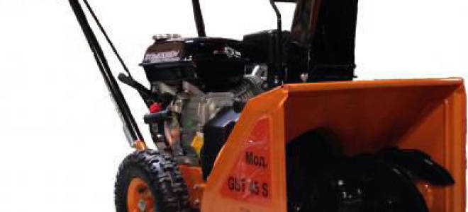 Снегоуборщик Prorab GST 54: обзор, отзывы
