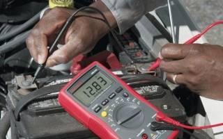 Как заменить аккумулятор мультиметром