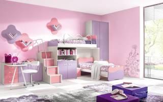Дизайн спальни для девочки фото