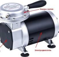 Электрическая схема автомобильного компрессора