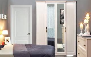 Дизайн спальни с встроенным шкафом