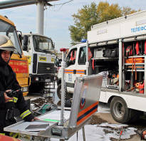 Как работает пожарная машина