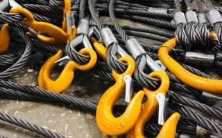 Стропы канатные стальные гост шнур