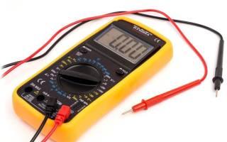 Мультиметр цифровой как проверить аккумулятор