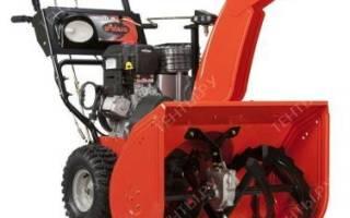 Снегоуборщик Ariens ST 30 DLE Deluxe арт. 921307: обзор, отзывы