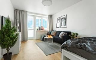 Икеа дизайн однокомнатной квартиры