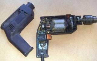 Подключение конденсатора в дрели