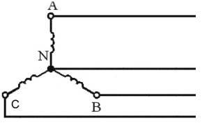 Отличие подключения звезды от треугольника