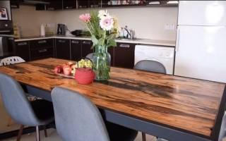 Как сделать самодельный стол
