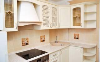 Интерьер маленькой кухни в стиле