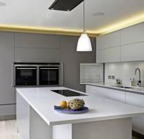 Интерьер кухни в стиле минимализм фото