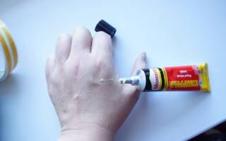 Чем отчистить суперклей с рук