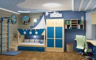 Дизайн спальни мальчика 10 лет