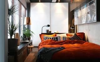 Дизайн спальни в маленькой комнате